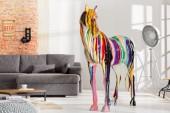 Skulptur Pferd Pop Art 160cm/ 36742