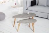 Beistelltisch Scandinavia Cement 2er Set/ 36808