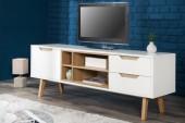TV-Board Nordic 150cm weiss Eiche/ 36805