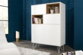 Highboard Baltic 100cm weiss/ 36804