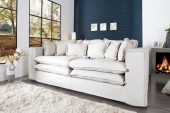 Sofa Cloud 230cm creme Leinen/ 35523