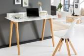 Schreibtisch Scandinavia 120cm weiss/ 36807