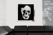 Bild Mirror Skull 80x80cm/ 36833