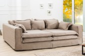 Sofa Cloud 230cm sand Leinen/ 37219