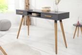 Schreibtisch Scandinavia 120cm graphit/ 37026