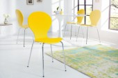 Stuhl Form gelb / 9411
