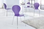 Stuhl Form lila/ 8578