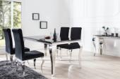 Esstisch Modern Barock 200cm schwarz/ 37356
