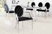 Stuhl Modern Barock m. Armlehne/ 37355