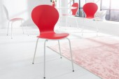 Stuhl Form Bicolor rot weiss/ 20653