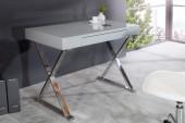 Schreibtisch Grace 100cm grau/ 37321