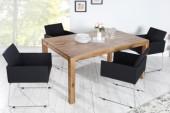 Stuhl Livorno Struktur schwarz anthrazit/ 37849