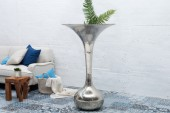 Vase Desert 120cm silber/ 36385