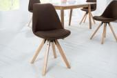 Stuhl Scandinavia Struktur braun/ 38125