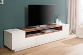 TV Lowboard Empire 180cm weiss walnuss/ 37525