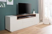 TV Board Empire 180cm weiss walnuss/ 37528