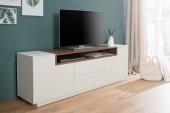 TV Board Loft 180cm weiss walnuss/ 37528