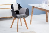 Stuhl Kopenhagen Armlehne Patchwork/ 37550