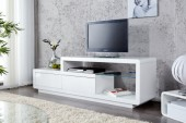 TV Lowboard Phase weiss mit LED/ 19365