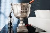 Champagner-Kühler 40cm silber/ 37606