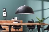 Hängeleuchte Glow schwarz silber 50cm/ 38294