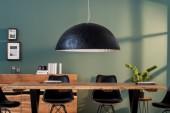 Hängeleuchte Glow schwarz silber 70cm/ 38295
