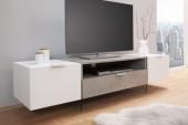 TV Lowboard Onyx 160cm weiss Beton/ 38142
