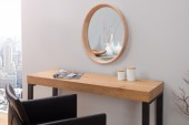 Spiegel Oak oval Eiche/ 37689
