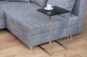 Beistelltisch Simply 60cm schwarz silber/ 37950