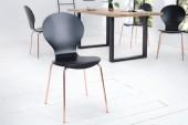Stuhl Form schwarz kupfer/ 37962