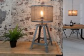 Tischleuchte Loft 60cm iron grau/ 38150