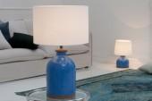 Tischleuchte Blue Classic 60cm/ 38160