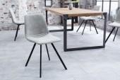 Stuhl Amsterdam Retro stone grau/ 38364