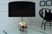 Tischleuchte Skull 44cm/ 38320