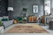 Teppich Batik 240x160cm sand/ 38259