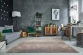Teppich ModernArt 240x160cm grau beige/ 38268