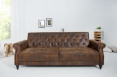 Sofa Maison Belle Affaire 220cm antik braun/ 37144