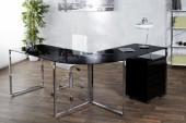 Eck-Schreibtisch Big Deal schwarz/ 38381