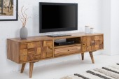 TV Board Mosaico 140cm Sheesham/ 38417