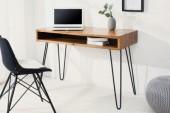 Schreibtisch Mantis 110cm Sheesham/ 38459