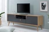 TV-Lowboard Globetrotter 150cm natur anthr./38318