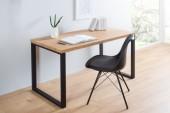 Schreibtisch Black Desk 128cm schwarz Eiche/ 38428