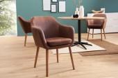 Stuhl Supreme vintage braun/ 37871