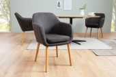 Stuhl Supreme vintage grau/ 38439