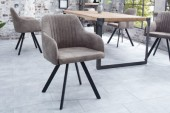 Stuhl Lucca taupe grau/ 38309