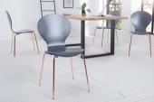 Stuhl Form anthrazit kupfer/ 37963