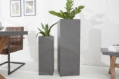 Pflanz-Säule Cement 100cm Beton-Optik/ 37854