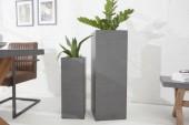 Pflanz-Säule Cement 70cm Beton-Optik/ 37855