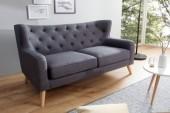 Sofa Hygge 2er 145cm anthrazit/ 38324