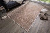 Teppich Leaves 240x165cm braun/ 38753